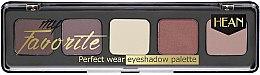 Düfte, Parfümerie und Kosmetik Lidschattenpalette - Hean My favorite Eye Shadow Palette