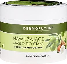 Düfte, Parfümerie und Kosmetik Feuchtigkeitsspendende Körperbutter für trockene und normale Haut - DermoFuture