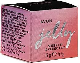 Düfte, Parfümerie und Kosmetik 2in1 Lipgloss und Gesichtsrouge - Avon Jelly Sheer Lip & Cheek Tint