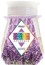 Düfte, Parfümerie und Kosmetik Raumduft-Gel mit farbwechselnden Kristallen und Lavendelduft - Airpure Colour Change Crystals Lavender Moments
