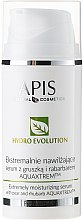 Düfte, Parfümerie und Kosmetik Feuchtigkeitsspendendes Gesichtsserum mit Birne und Rhabarber - APIS Professional Hydro Evolution Extremely Moisturizing Serum