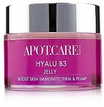Düfte, Parfümerie und Kosmetik Feuchtigkeitsspendendes und straffendes Anti-Falten Gesichtsgel-Gelée mit Hyaluronsäure - APOT.CARE Hyalu B3 Jelly