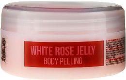 Düfte, Parfümerie und Kosmetik Natürliches Körperpeeling Gelee aus weißer Rose auf Meersalzbasis - Stani Chef's White Rose Jelly Body Peeling