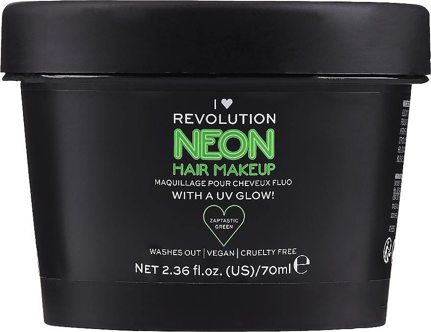 Temporäre Haarfarbe für glänzendes Haar - I Heart Revolution UV Neon Hair Make Up