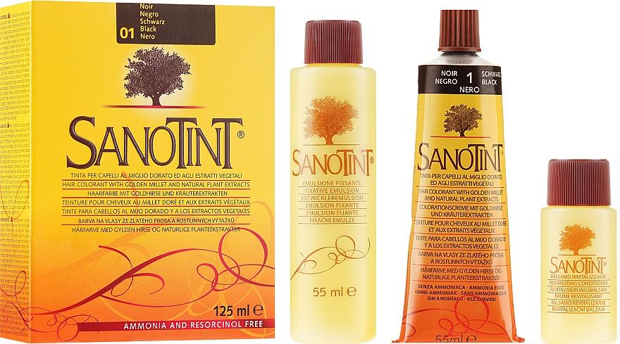 Haarfarbe mit Goldhirse und Kräuterextrakten - Sanotint Classic