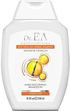 Düfte, Parfümerie und Kosmetik Shampoo gegen Haarausfall mit Aminosäuren Komplex für stumpfes Haar - Dr.EA Anti-Hair Loss Herbal Sunless Hair Shampoo