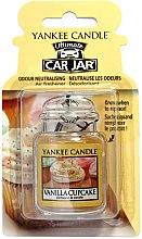 Düfte, Parfümerie und Kosmetik Auto-Lufterfrischer - Yankee Candle Car Jar Vanilla Cupcake