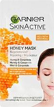 Düfte, Parfümerie und Kosmetik Regenerierende Gesichtsmaske mit Honig & Ceramide - Garnier SkinActive Honey Mask