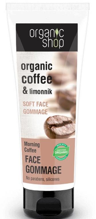 Gesichtspeeling mit Bio Kaffee- und Olivenöl - Organic Shop Gommage Face