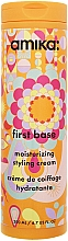 Düfte, Parfümerie und Kosmetik Feuchtigkeitsspendende Haarstylingcreme - Amika First Base Moisturizing Styling Cream