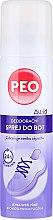 Düfte, Parfümerie und Kosmetik Schuh-Deospray - Astrid Antibacterial Deodorizing Spray Peo Shoe