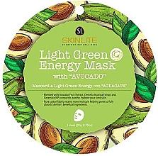 Düfte, Parfümerie und Kosmetik Energitisierende Tuchmaske für das Gesicht mit Avocado - Skinlite Light Green Energy Mask