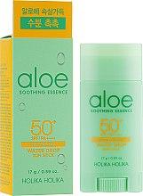 Düfte, Parfümerie und Kosmetik Sonnenschutz-Stick Aloe LSF 50+ - Holika Holika Aloe Soothing Essence Water Drop Sun Stick SPF50+
