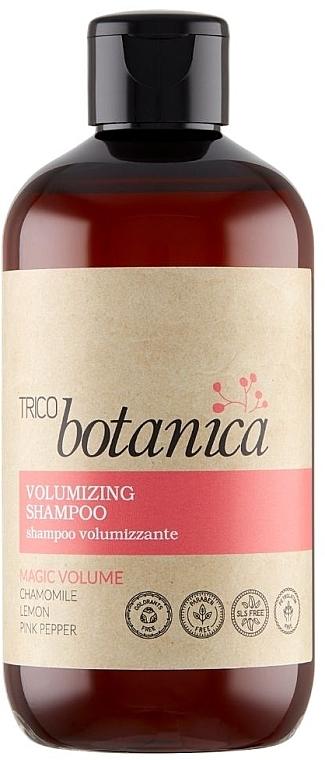 Shampoo für mehr Volumen mit Kamille, Zitrone und rosa Pfeffer - Trico Botanica