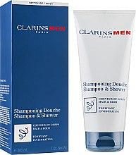 Düfte, Parfümerie und Kosmetik Erfrischendes Haar- und Körpershampoo - Clarins Men Shampoo & Shower
