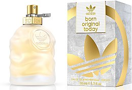 Düfte, Parfümerie und Kosmetik Adidas Born Original Today For Her - Eau de Toilette