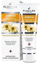 Düfte, Parfümerie und Kosmetik Arnica feuchtigkeitsspendende Gesichtscreme - Floslek Moisturizing Arnica Cream SPF 15