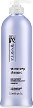 Düfte, Parfümerie und Kosmetik Anti-Gelbstich Shampoo für weißes und blondes Haar - Black Professional Line Yellow Stop Shampoo