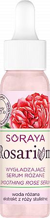 Glättendes Gesichtsserum mit Rosenwasser und Rosenextrakt - Soraya Rosarium A Smoothing Rose Serum