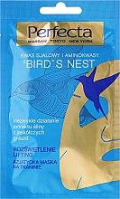 Düfte, Parfümerie und Kosmetik Tuchmaske mit Sialinsäure und Aminosäure - Perfecta Bird's Nest Face Mask