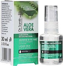 Düfte, Parfümerie und Kosmetik Anti-Spliss Seidenserum mit Aloe Vera-Extrakt - Dr. Sante Aloe Vera Liquid Silk Serum For Split Ends