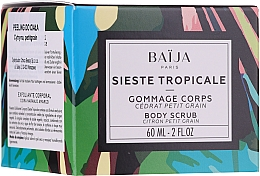 Düfte, Parfümerie und Kosmetik Körperpeeling - Baija Sieste Tropicale Body Scrub