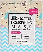 Düfte, Parfümerie und Kosmetik Feuchtigkeitsspendende Tuchmaske mit Sheabutter - Huangjisoo Shea Butter Nourishing Mask