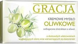 Düfte, Parfümerie und Kosmetik Körperseife mit Olivenextrakt - Miraculum Gracja Olive Cream Soap