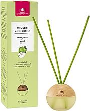 Düfte, Parfümerie und Kosmetik Kugelförmiger Aroma-Diffusor mit Duftstäbchen Apfel - Cristalinas Mikado Reed Diffuser