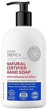 Düfte, Parfümerie und Kosmetik Antibakterielle Handseife mit Salicylsäure - Natura Siberica Natural Certified Hand Soap