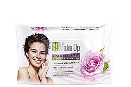 Düfte, Parfümerie und Kosmetik Abschminktücher für empfindliche Haut mit Rosenöl - Nature of Agiva Wet Wipes Cleaning Make Up Rose Oil