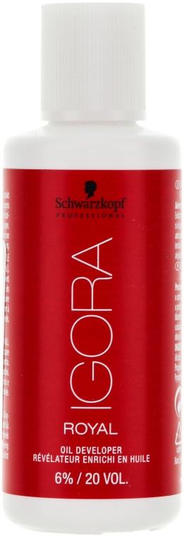 Entwicklerlotion 6% - Schwarzkopf Professional Igora Royal Oxigenta