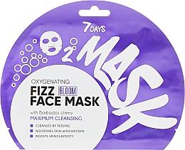 Düfte, Parfümerie und Kosmetik Sauerstoff-Maske für das Gesicht mit Barbados-Kirsche - 7 Days Bloom Maximum Cleansing Sheet Mask