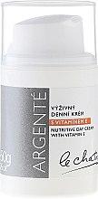 Düfte, Parfümerie und Kosmetik Pflegende Tagescreme mit Vitamin E - Le Chaton Argente Nourishing Day Cream with Vitamin E