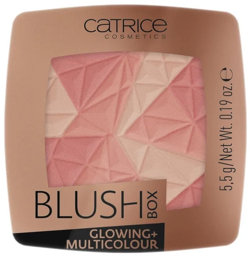 Mehrfarbiges Gesichtsrouge - Catrice Blush Box Glowing + Multicolour