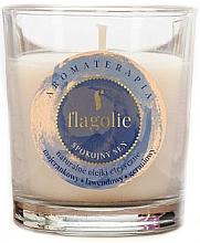 Düfte, Parfümerie und Kosmetik Duftkerze im Glas Rest Sleep - Flagolie Fragranced Candle Rest Sleep