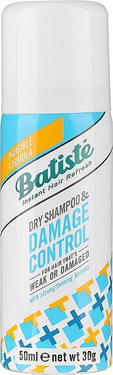 Trockenshampoo für geschädigtes und strapaziertes Haar mit Avocadoextrakt und Keratin - Batiste Dry Shampoo Damage Control
