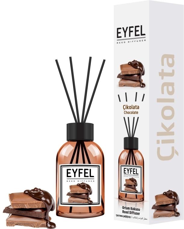 Raumerfrischer Chocolate - Eyfel Perfume Chocolate Reed Diffuser