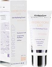 Düfte, Parfümerie und Kosmetik Leichte feuchtigkeitsspendende Gesichtscreme mit Hyaluronsäure für normale und fettige Haut - GlySkinCare Hydrotone Lite Hydrating Cream