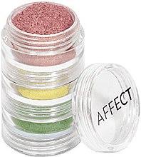 Düfte, Parfümerie und Kosmetik Lidschatten-Set - Affect Cosmetics Charmy Pigment Loose Eyeshadow Set