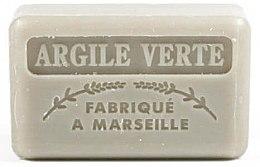 Düfte, Parfümerie und Kosmetik Handgemachte Naturseife mit grünem Ton und Sheabutter - Foufour Savonnette Marseillaise Argile Verte