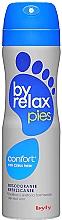 Düfte, Parfümerie und Kosmetik Erfrischendes Fußdeospray mit Zitrusduft - Byly Byrelax Comfort With Citrus Fresh Feet Deo Spray