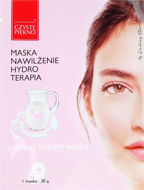Feuchtigkeitsspendende Gesichtsmaske mit Ziegenmilch - Czyste Piekno Hydro Therapia Face Mask