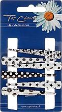 Düfte, Parfümerie und Kosmetik Haarspangen 25020 schwarz-weiß - Top Choice
