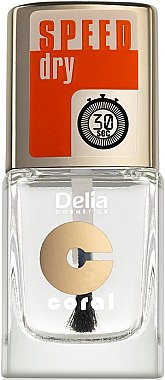 Schnelltrockender Nagelüberlack - Delia Speed Dry Top Coat