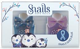 Düfte, Parfümerie und Kosmetik Kinder-Nagellack-Set 2x10,5ml - Snails Mini Bebe Penguin