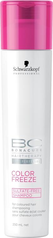 Farbschutz-Shampoo für coloriertes Haar - Schwarzkopf Professional BC Bonacure Color Freeze Sulphate Free Shampoo — Bild N1