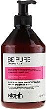 Düfte, Parfümerie und Kosmetik Maske gegen Haarausfall - Niamh Hairconcept Be Pure Hair Fall Prevention Mask
