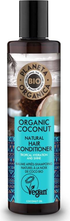 Feuchtigkeitsspendende Haarspülung mit Bio Kokosöl - Planeta Organica Organic Coconut Natural Hair Conditioner