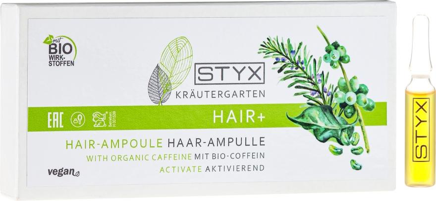Haarampullen mit Bio Coffein - Styx Naturcosmetic Haar Balsam mit Melisse